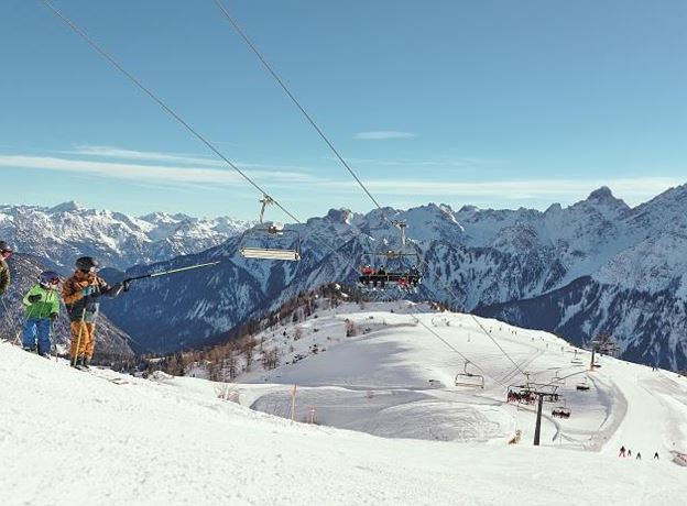 Ski tour for beginners
